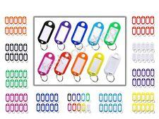 Schlüsselschilder - Schlüsselanhänger zum Beschriften - 5-100 Stück in 10 Farben