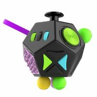 New Fidget Cube Relieves Stress Puzzles Magic Cubes Plastic Christmas Gift