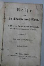 Marie Joseph de GERAMB-Voyage de la législation à Rome