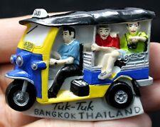 TUK TUK Taxi Bangkok Thailand Fridge Magnet Souvenir Handcraft Handmade 3 Wheel