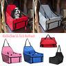 Pet Dog Cat Folding Car Seat Safe Travel Mesh Carrier Bag Kennel Puppy Handbag
