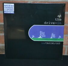 AT THE DRIVE IN -  In / Casino / Out, Limited CLEAR COLORED LP Vinyl NEW