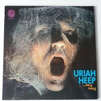 Uriah Heep - Very Eavy Very Umble - Vinyl LP UK 1st Press Vertigo Swirl Top Copy
