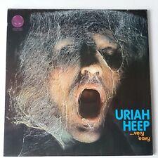 Uriah Heep - Very Eavy Very Umble - Vinyl LP UK 1st Press Vertigo Swirl Top Copy