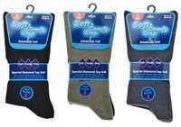 Men's Diabetic Soft Comfy Grip Non Elasticated Socks 3, 6, 12 Pairs lot UK 6-11