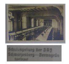 speisesaal schulungsburg der d.a,f schwarzenberg bermsgrün