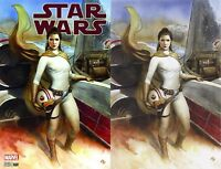 Star Wars #40 Adi Granov Virgin & Trade Variant Princess Leia Carrie Fisher 2017