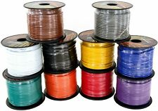 GS Power 14 Gauge Copper Clad Aluminum Primary Cable in 10 Colors Roll Combo