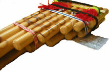 More details for fair trade bolivian traditional 15 pipe panpipes from la paz