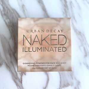 Urban Decay Naked Illuminated Shimmering Powder for Face & Body AURA w/Brush New