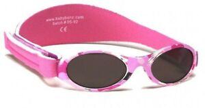 Baby Banz NEW Adventurer Sunglasses - Camo Pink BNWT