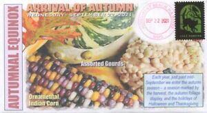 COVERSCAPE computer designed 2021 Autumnal Equinox (first day of Autumn) cover