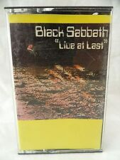 Black Sabbath Live At Last The Rainbow London War Pigs Paranoid Ozzy Osbourne