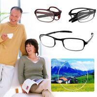 Gafas plegables Cuidado de la visión Gafas de sol con estuche Gafas de lectura