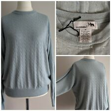 Pullover Di Cashmere Taglia 8 M/&S Nuova con Etichetta Nero Lavabile in lavatrice