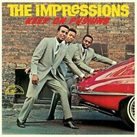 The Impressions - Keep On Pushing [New Vinyl LP] 180 Gram, Spain - Import