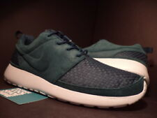 Nike ROSHE RUN ROSHERUN WOVEN ATOMIC TEAL GREEN WHITE FIBERGLASS 555602-334 10