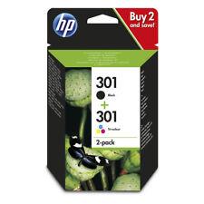 Original HP 301 Combo Pack Cartuchos de Tinta 301 Negro y 301 Tricolor (N9J72AE)