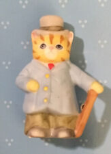 Schmid Kitty Cucumber Jp Buster Thimble Sized Figure Easter Parade Fancy Suit