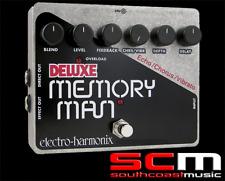 ELECTRO HARMONIX DELUXE MEMORY MAN ANALOGUE DELAY PEDAL CHORUS & REVERB