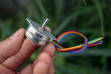 25spg0001 Mini 25mm Round Thin 4 Phase 5 Wire Stepper Motor Micro Stepping Motor
