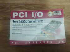 Brand New Sealed SIIG PCI Expander 4S  Card Model io1872