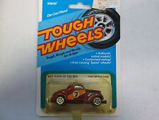 Kidco Tough Wheels Hot Rods Of The 30's w/ #7 '36 Ford Coupe No. 118