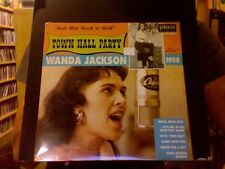 "Wanda Jackson Live at Town Hall Party 1958 10"" EP sealed vinyl Sundazed"