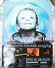 L'Arc~en~Ciel World Tour 2012 Live At Madison Square Garden Promo Poster (Ver.B)