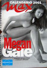 Calendar sexy-MEGAN GALE nude-Calendario 2001 MAX Italy