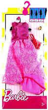 Mattel Barbie Fashions Complete Look - Pink Hi Low Dress and accessories New