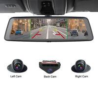 360-degree panoramic 4CH Cameras wifi car dvr backup mirror gps navi dash camera