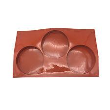 Mini Pie Mold Cutter Silicone Disc Cake Pie Tart Coaster Mold Kit Recipe Mould