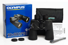 Olympus 10x50 DPS I Binoculars, Wide-Angle Viewing, UV Protection - Brand New