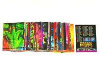 1993 MARVEL MASTERPIECES SERIES 2 BASE 90 CARD SET VENOM JOE JUSKO WOLVERINE!