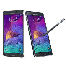 Samsung Galaxy Note 4 N910T 32GB 3G 4G LTE Unlocked Mobile Phone Charcoal Black