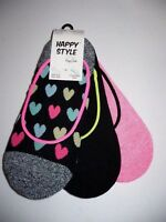 Happy Style Socks No Show Sport Liner Socks 3 Pair Shoe Size 5.5-9.5 NEW #16