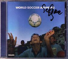 Seiji OZAWA Signed WORLD FOOTBALL NATIONAL ANTHEMS CD Germany Japan France China
