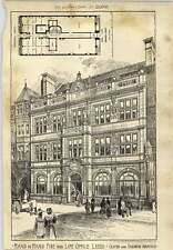 1903 Hand-in-hand Fire And Life Office Leeds Oliver Dodshun