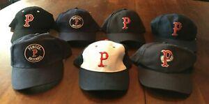 "MiLB Pawtucket ""Pawsox"" Red Sox Minor League Lot of Seven Caps/Hats Adjustable"