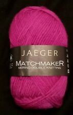 JAEGER Matchmaker Double Knitting  DK (DISCONTINUED) Merino Wool Yarn 131 yds ea
