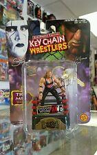 NEW 1998 Toy Biz WCW/NWO Keychain Wrestlers Kevin Nash Factory Sealed!