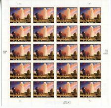 2009 US Scott #4379 $17.50 Old Faithful Sheet of 20 Stamps