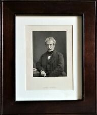 More details for scottish antique framed print lord clyde sir colin campbell the thin red line