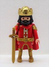 König der CRUZADO ROJO PLAYMOBIL para caballero castillo del Crusader 2138