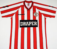 1989-1991 Southampton Hummel Home Football Shirt (talle Xl)