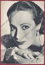DOLORES DEL RIO 38 ATTRICE ACTRESS ACTRICE ACTRIZ CINEMA MOVIE Cartolina 1938