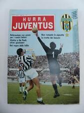 HURRA' JUVENTUS JUVE rivista vintage # 5 - maggio 1966 calcio football