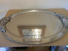 oval silver plated tray,,,,,,83