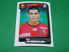 N°313 JEUNECHAMP STADE RENNAIS RENNES PANINI FOOT 2005 FOOTBALL 2004-2005